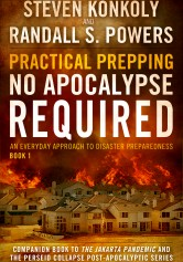 http://www.amazon.co.uk/Practical-Prepping-Apocalypse-Companion-Preparedness/dp/1500622346/ref=sr_1_1_twi_2?ie=UTF8&qid=1425324236&sr=8-1&keywords=PRACTICAL+PREPPING+NO+APOCALYPSE+REQUIRED